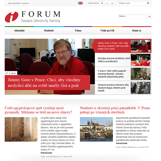 iForum, časopis UK